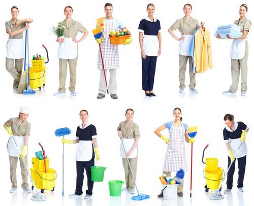 Cleaners and helper dresses